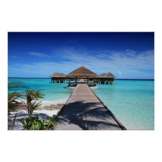maldives-666122 TROPICAL PARADISE BACKGROUNDS WALL Poster