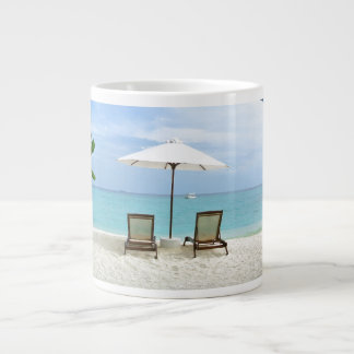 Maldives Beach Large Coffee Mug