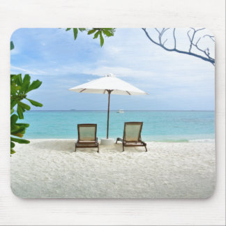 Maldives Beach Mouse Pad