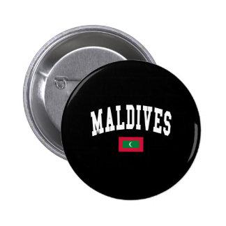 MALDIVES PINBACK BUTTONS