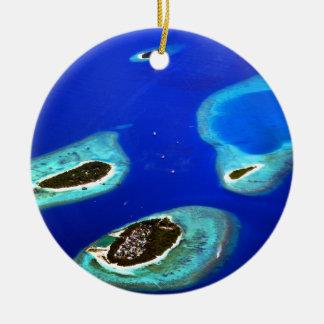 Maldives Ceramic Ornament