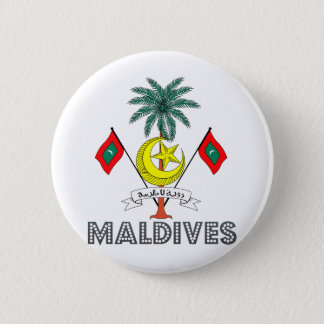 Maldives Coat of Arms Button