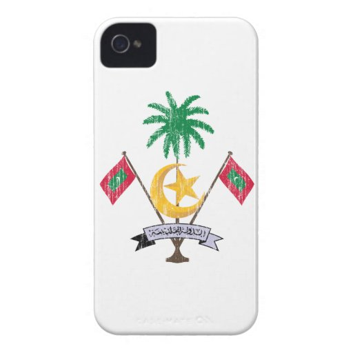 Maldives Coat Of Arms Blackberry Bold Cases
