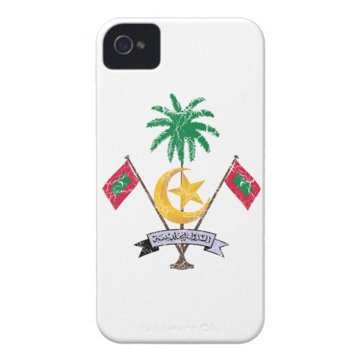 Maldives Coat Of Arms Blackberry Bold Case
