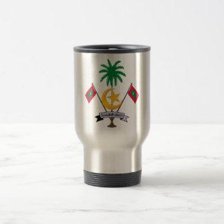 Maldives Coat of Arms Travel Mug