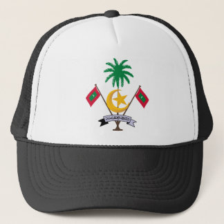 Maldives Coat Of Arms Trucker Hat