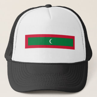 maldives country flag nation symbol trucker hat