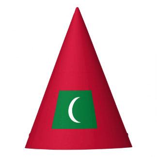 Maldives Flag Party Hat