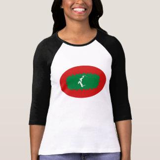 Maldives Gnarly Flag T-Shirt