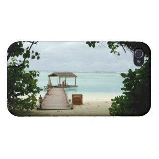 Maldives Island Boat Case For iPhone 4