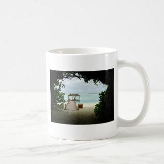 Maldives Island Boat Coffee Mug