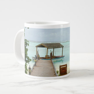 Maldives Island Boat Giant Coffee Mug