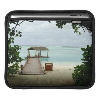 Maldives Island Boat iPad Sleeve