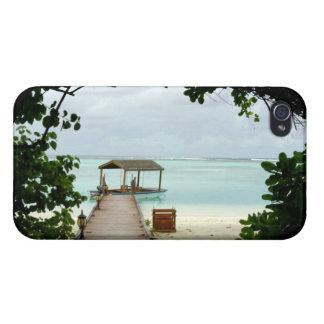 Maldives Island Boat iPhone 4 Case