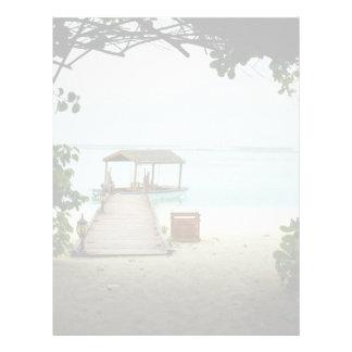 Maldives Island Boat Letterhead