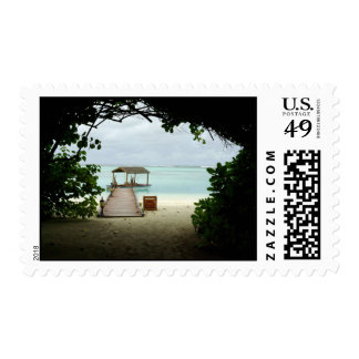 Maldives Island Boat Postage