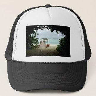 Maldives Island Boat Trucker Hat