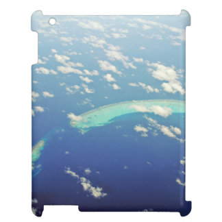 Maldives Island From Airplane Case For The iPad 2 3 4