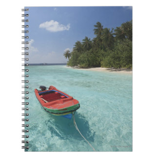 Maldives, Male Atoll, Kuda Bandos Island Notebook