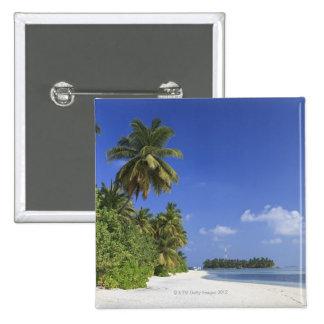 Maldives, Meemu Atoll, Medhufushi Island Button