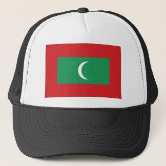 Maldives National Flag Trucker Hat