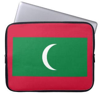 Maldives National World Flag Computer Sleeve