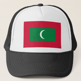 Maldives National World Flag Trucker Hat