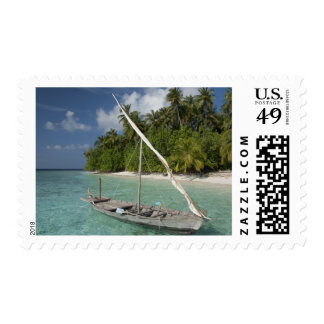 Maldives, North Male Atoll, Island of Kuda Postage Stamp