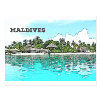 Maldives Postcard