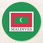 Maldives Round Paper Coaster