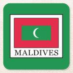 Maldives Square Paper Coaster