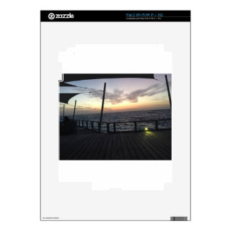 Maldives Sunset Decal For The iPad 2