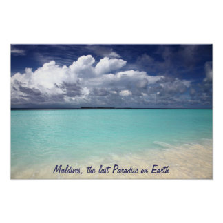 Maldives the last paradise on earth Poster