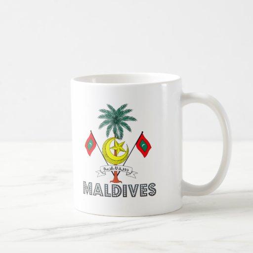 Maldivian Emblem Coffee Mug