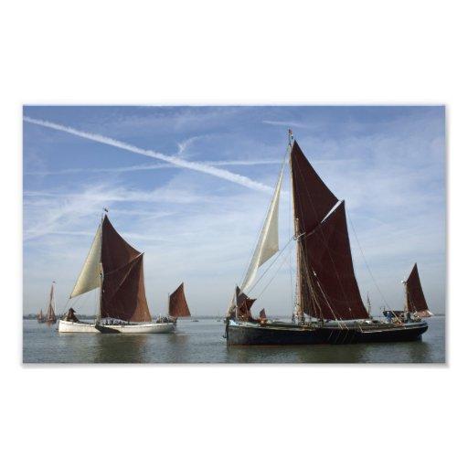 Maldon Barge Match 2010 Photo Print