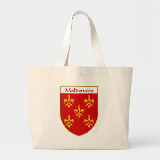 Maldonado Coat of Arms/Family Crest Large Tote Bag