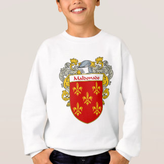 Maldonado Coat of Arms/Family Crest (Mantled) Sweatshirt