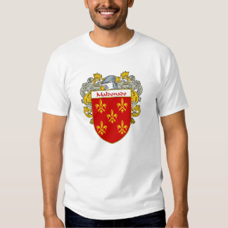Maldonado Coat of Arms/Family Crest (Mantled) T-shirt