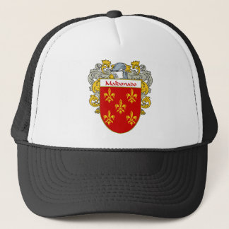 Maldonado Coat of Arms/Family Crest (Mantled) Trucker Hat