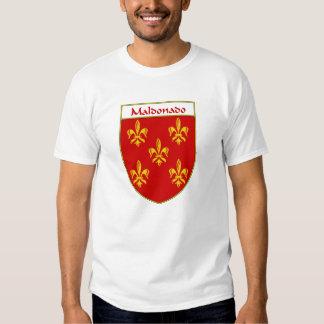 Maldonado Coat of Arms/Family Crest Tee Shirt