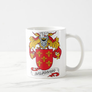 Maldonado Family Crest Coffee Mug