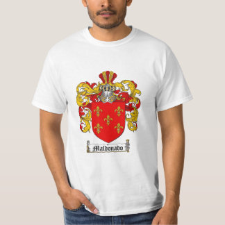 Maldonado Family Crest - Maldonado Coat of Arms T-Shirt