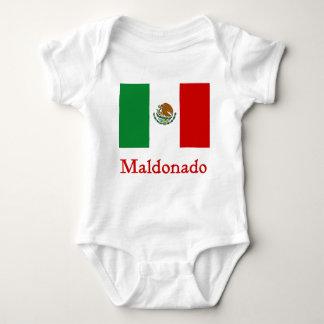 Maldonado Mexican Flag Infant Creeper