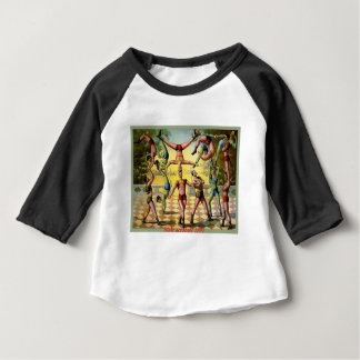 Male Acrobats Baby T-Shirt