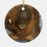 Male Anatomy Jokes Double-Sided Ceramic Round Christmas Ornament