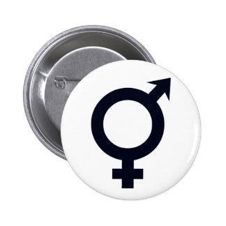 Male and Female Symbol Pinback Button
