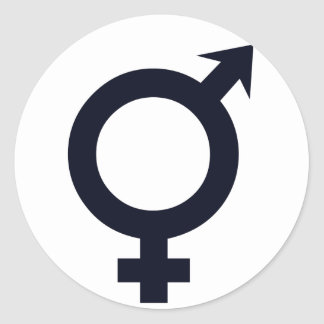 Male and Female Symbol Stickers