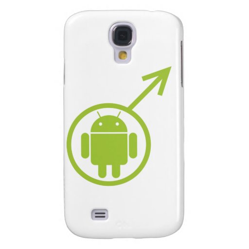 Male Android (Sign / Symbol) Bugdroid Galaxy S4 Covers