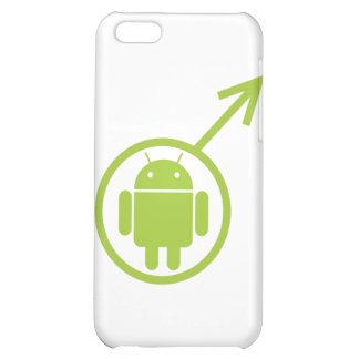 Male Android (Sign / Symbol) Bugdroid iPhone 5C Cover