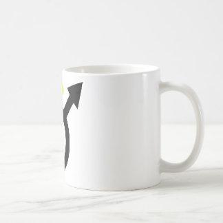 male angel icon mug